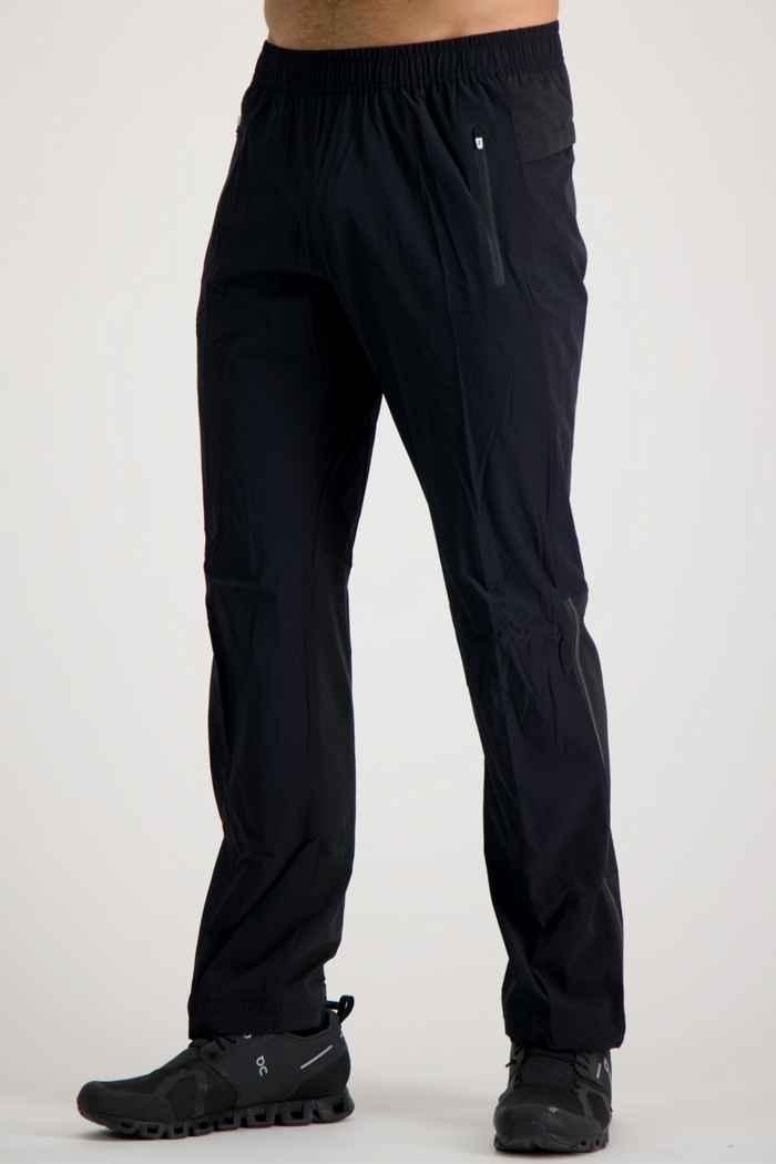 On Track pantalon de course hommes Couleur Noir 1
