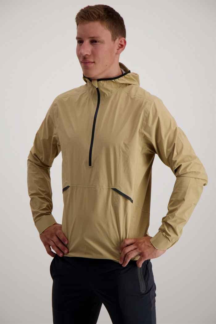 On Waterproof giacca da corsa uomo Colore Beige 1