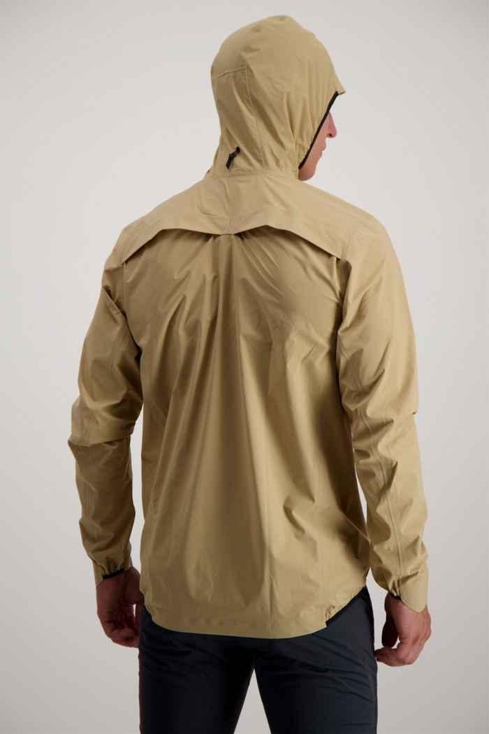 On Waterproof giacca da corsa uomo Colore Beige 2