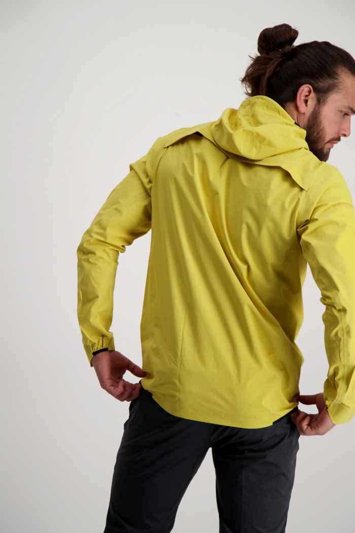On Waterproof giacca da corsa uomo Colore Giallo 2