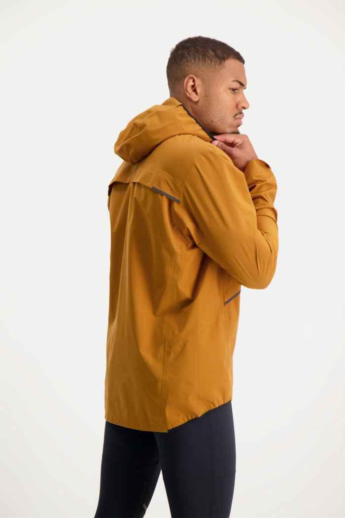On Waterproof giacca da corsa uomo Colore Marrone 2