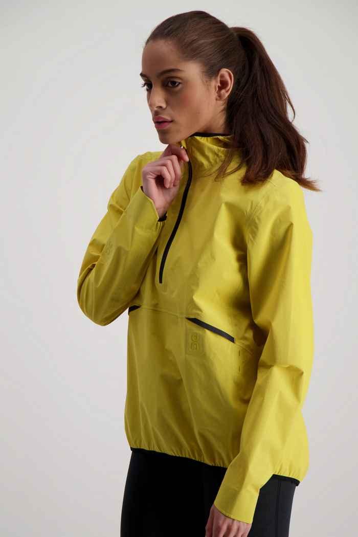 On Waterproof veste de course femmes Couleur Jaune 1