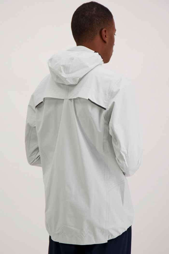 On Waterproof veste de course hommes Couleur Blanc 2