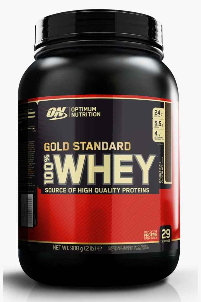 Optimum Nutrition Whey Gold Standard Chocolate 908 g Proteinpulver 1