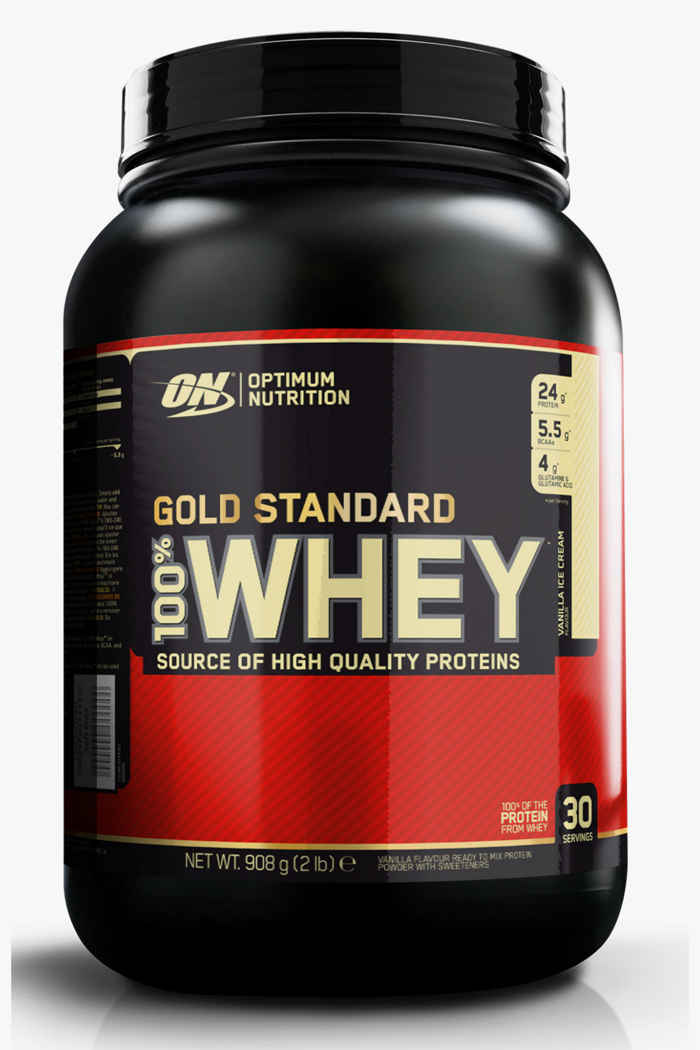 Optimum Nutrition Whey Gold Standard Vanilla Ice 908 g Proteinpulver 1