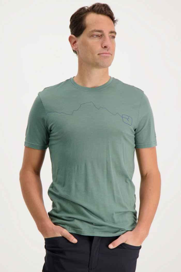 Ortovox 120 Tec Mountain t-shirt hommes Couleur Vert 1