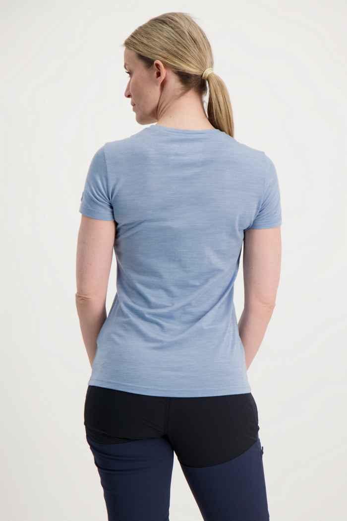 Ortovox 150 Cool Leaves t-shirt femmes Couleur Bleu clair 2