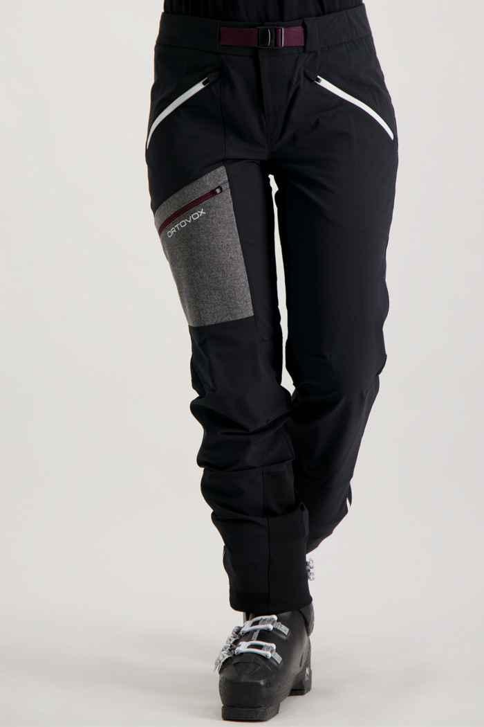 Ortovox Cevedale pantalon de ski de randonnée femmes Couleur Noir 1