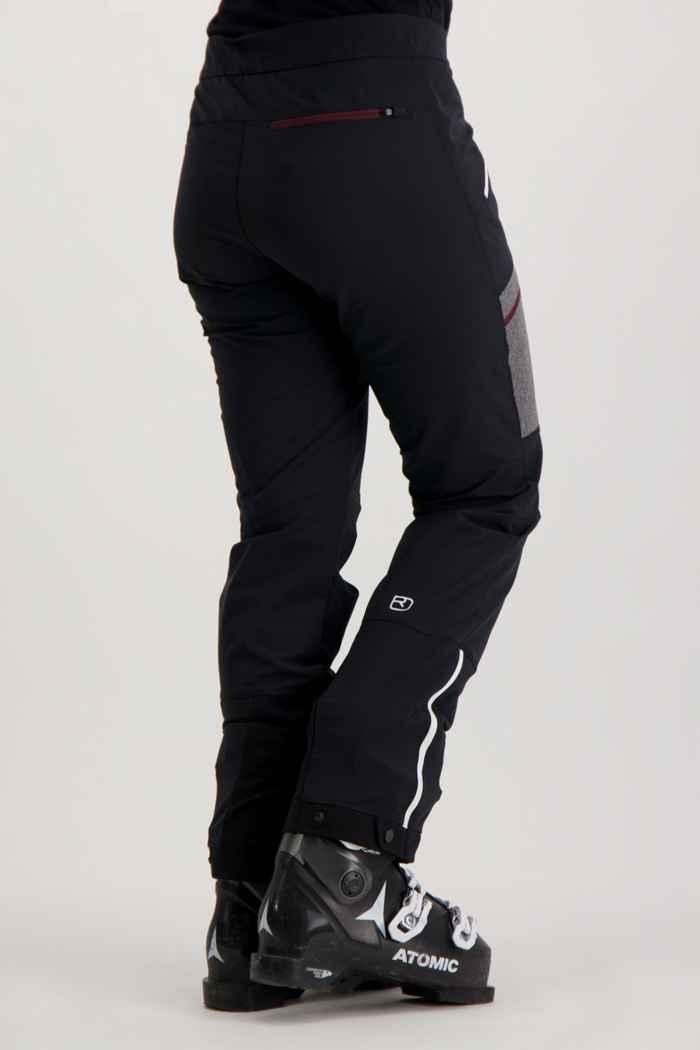 Ortovox Cevedale pantalon de ski de randonnée femmes Couleur Noir 2