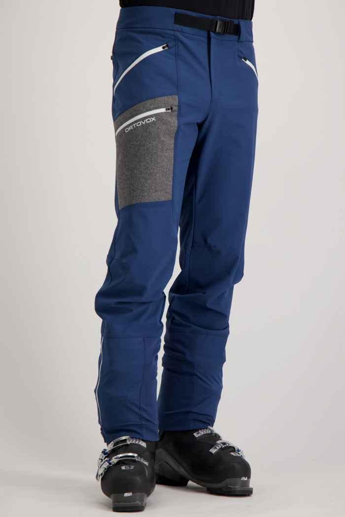Ortovox Cevedale pantalon de ski de randonnée hommes Couleur Bleu 1