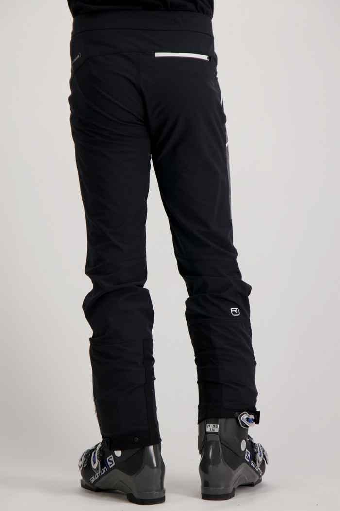 Ortovox Cevedale pantalon de ski de randonnée hommes Couleur Noir 2
