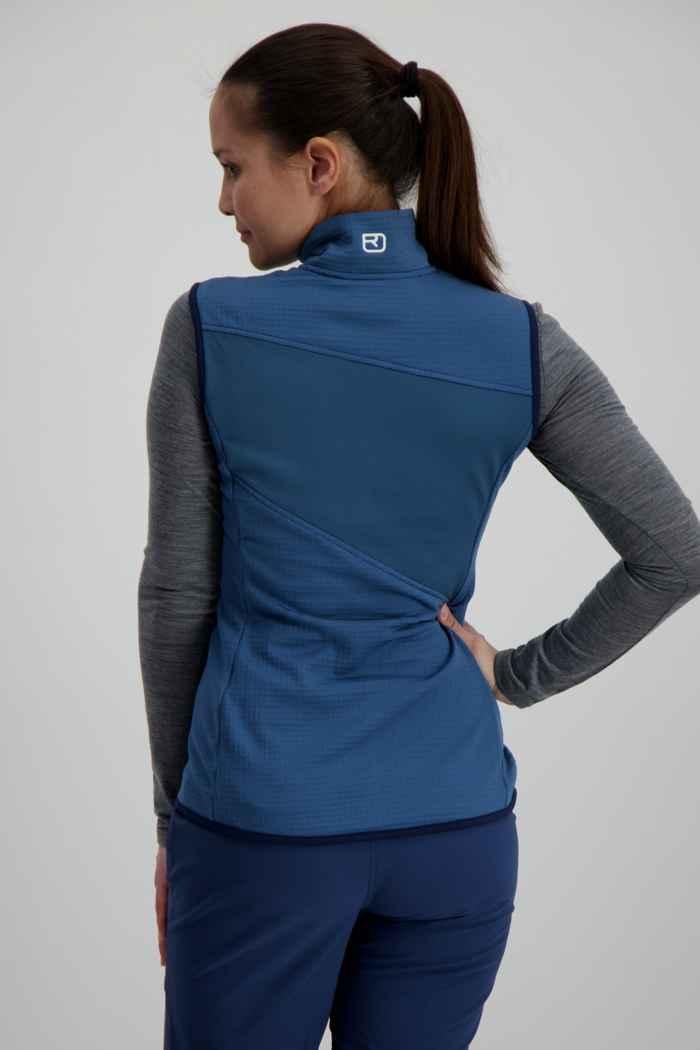 Ortovox Fleece Grid gilet donna Colore Blu 2