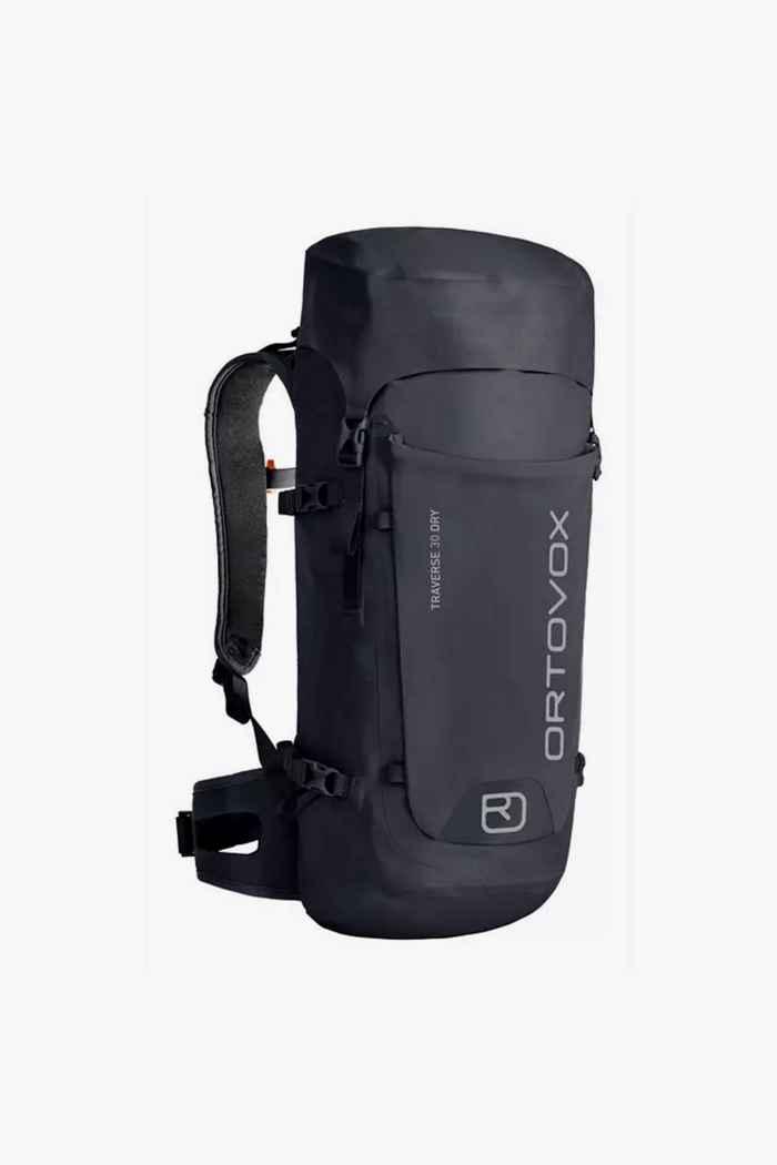 Ortovox Traverse Dry 30 L sac à dos de randonnée Couleur Noir 1