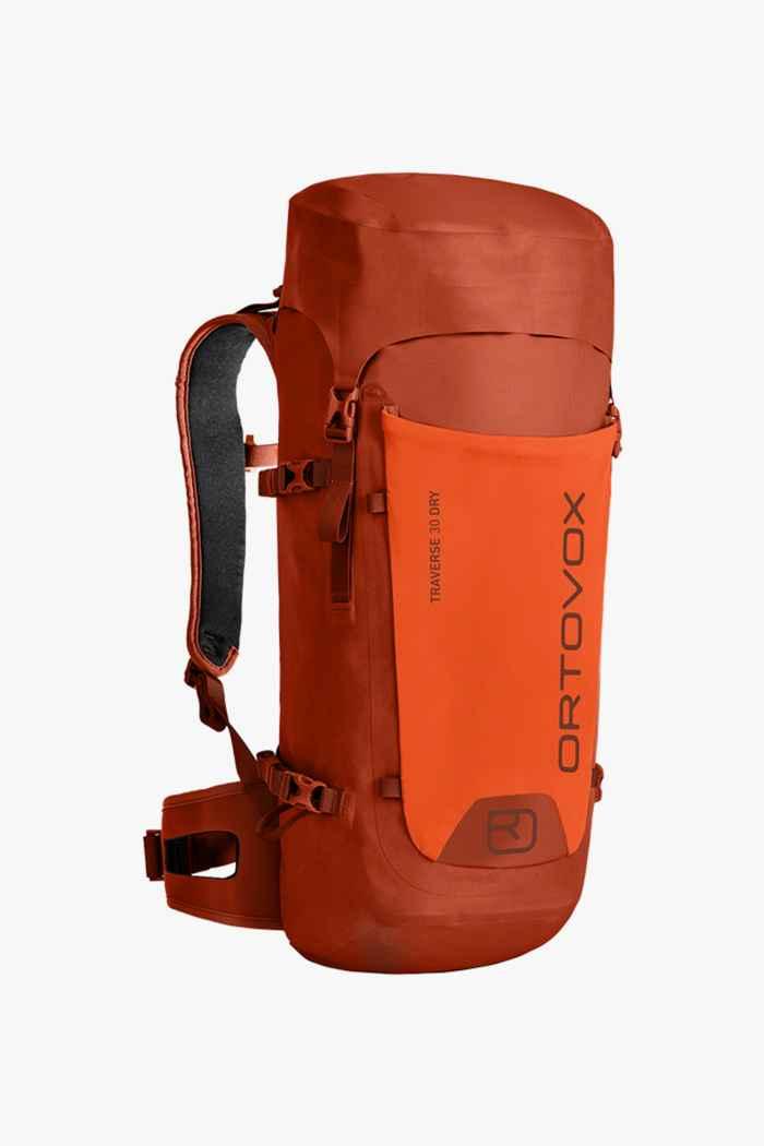 Ortovox Traverse Dry 30 L sac à dos de randonnée Couleur Orange 1