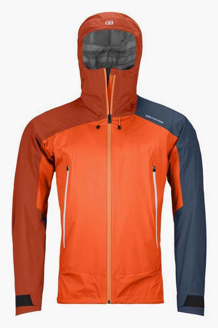 Ortovox Westalpen 3L Light giacca outdoor uomo Colore Arancio 1