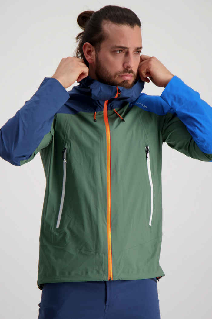 Ortovox Westalpen 3L Light giacca outdoor uomo Colore Verde 1