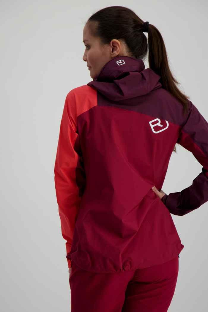 Ortovox Westalpen 3L Light veste outdoor femmes Couleur Berry 2
