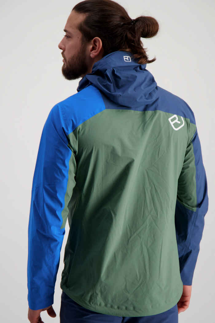 Ortovox Westalpen 3L Light veste outdoor hommes Couleur Vert 2