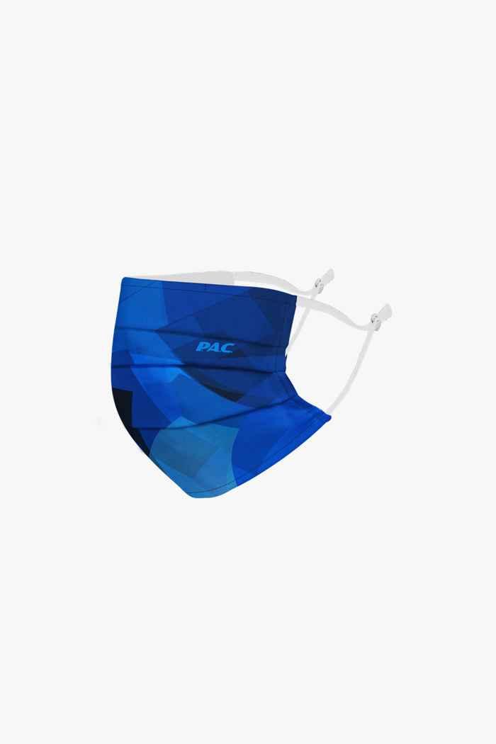 PAC mascherina facciale Colore Blu 1