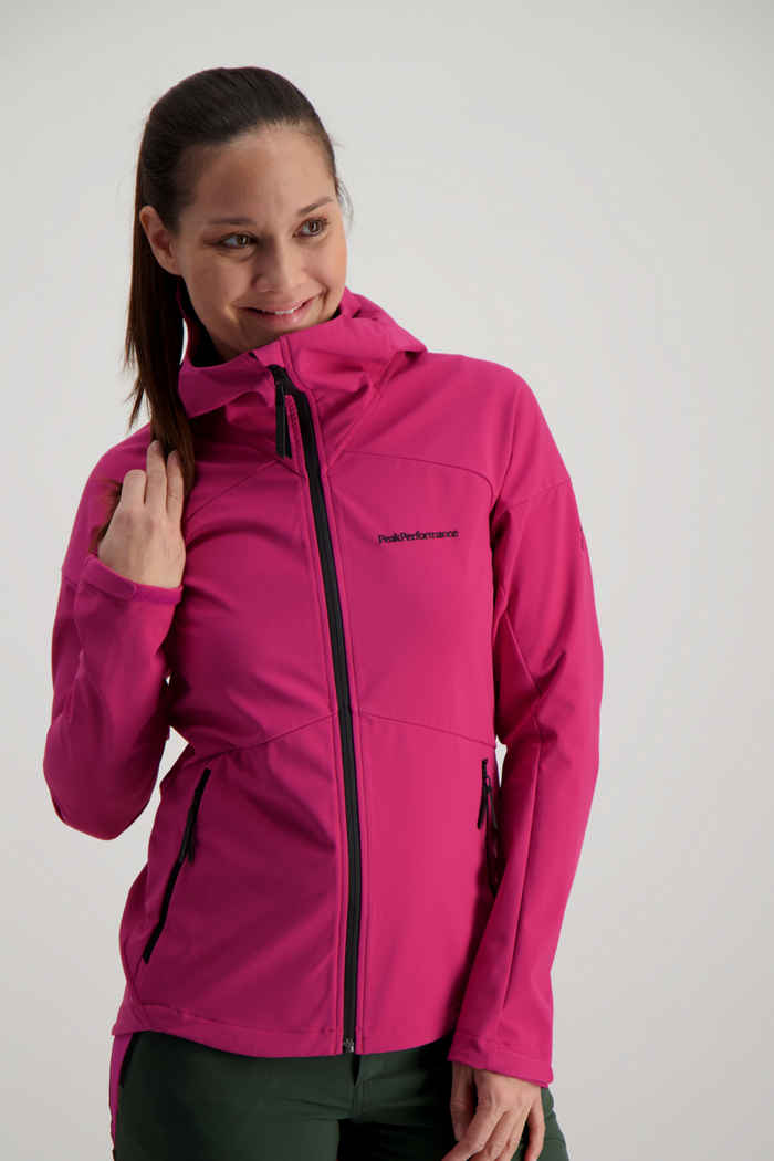 Peak Performance Adventure veste softshell femmes 1