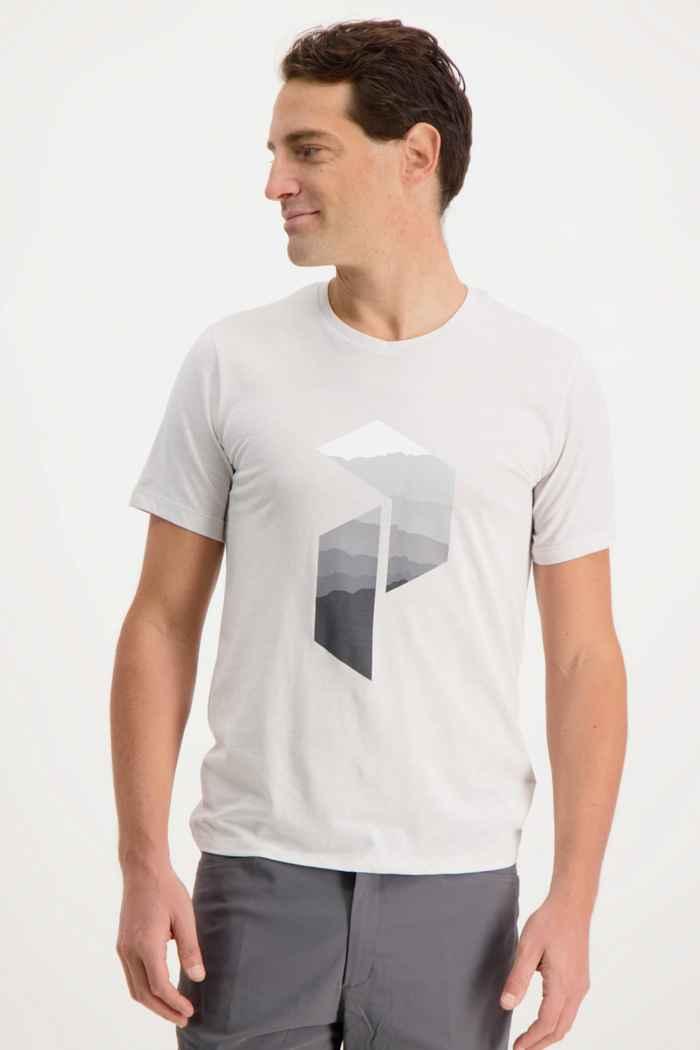 Peak Performance Explore Big P t-shirt hommes Couleur Blanc cassé 1