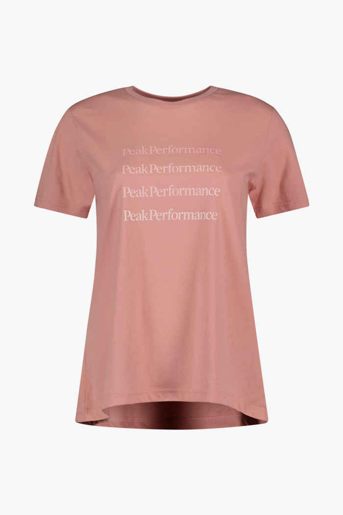 Peak Performance Ground 1 t-shirt donna 1