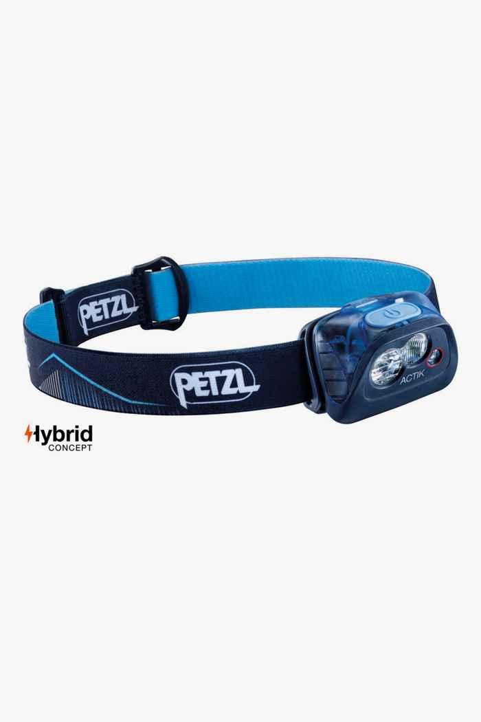 Petzl Actik 350 Lumen lampe frontale Couleur Bleu 1
