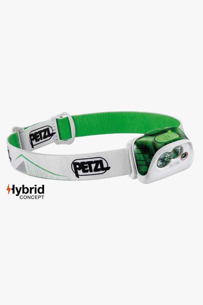 Petzl Actik 350 Lumen lampe frontale Couleur Vert 1