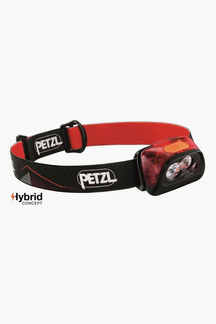 Petzl Actik Core 450 Lumen lampe frontale Couleur Rouge 1
