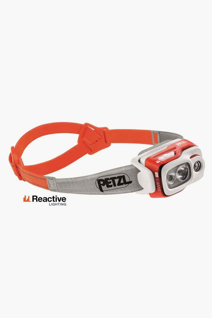 Petzl Swift RL 900 Lumen lampe frontale Couleur Orange 1
