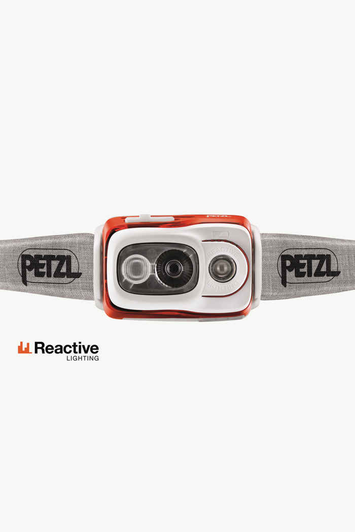 Petzl Swift RL 900 Lumen lampe frontale Couleur Orange 2