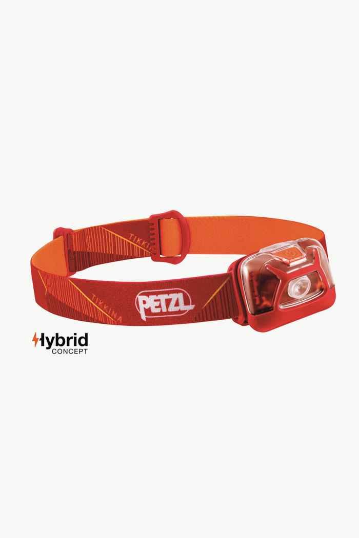 Petzl Tikkina 250 Lumen lampe frontale Couleur Rouge 1
