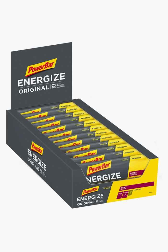 PowerBar Energize Original 25 x 55 g barretta per lo sport Colore Grigio 1