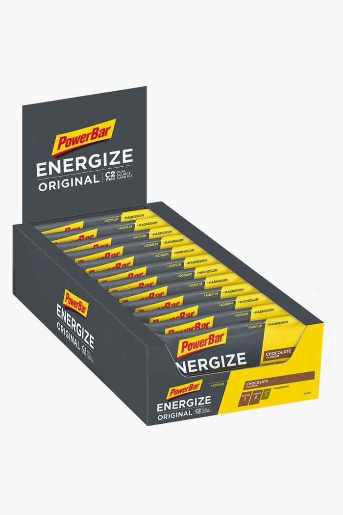PowerBar Energize Original 25 x 55 g Sportriegel Farbe Grau 1