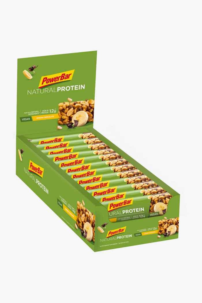 PowerBar Natural Protein 24 x 40 g barretta per lo sport Colore Verde 1