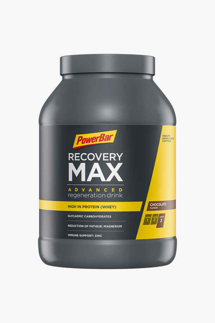 PowerBar Recovery Max Chocolate 1144 g poudre de protéines 1
