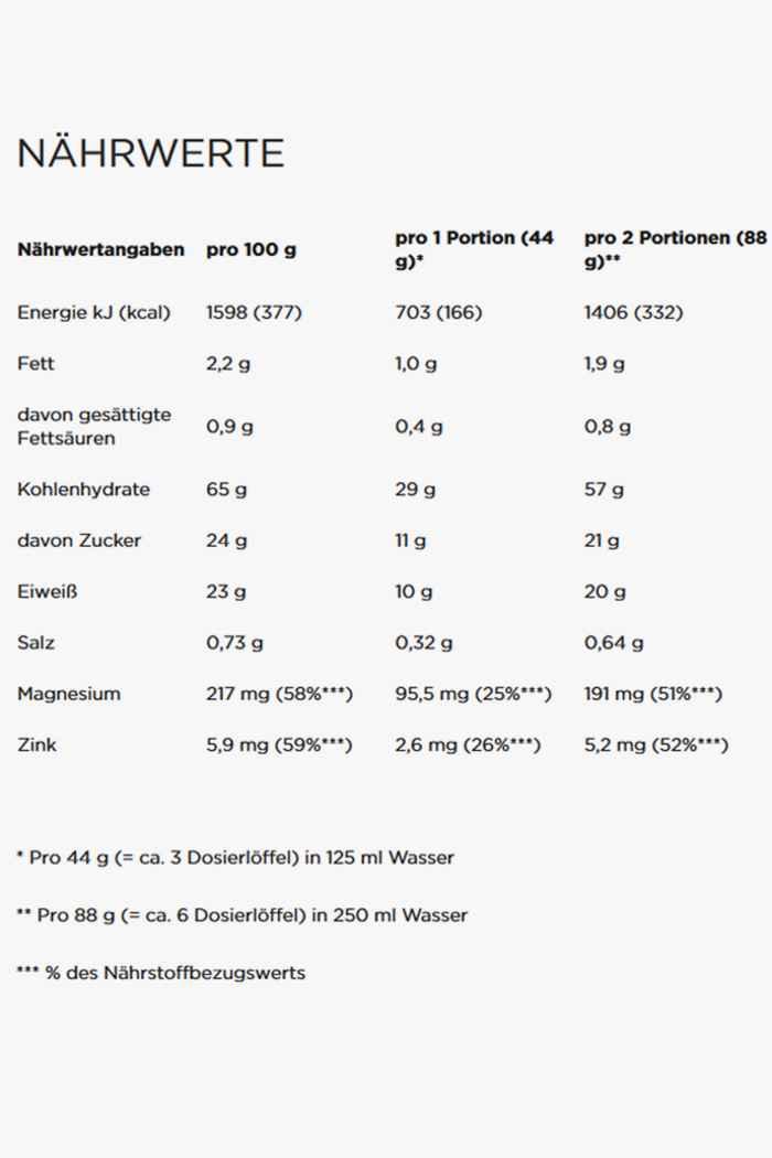 PowerBar Recovery Max Chocolate 1144 g poudre de protéines 2
