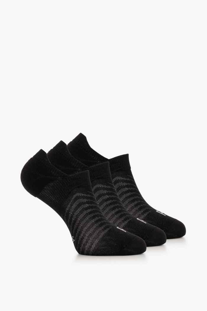 Powerzone 3-Pack 35-42 chaussettes de course Couleur Noir/gris 2