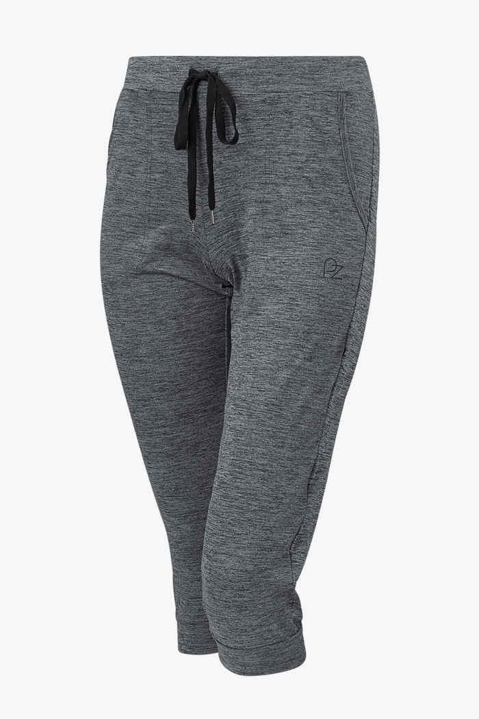 Powerzone Damen 3/4 Fitnesshose Farbe Grau 1