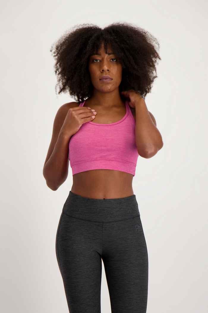 Powerzone Damen Sport-BH Farbe Pink 1