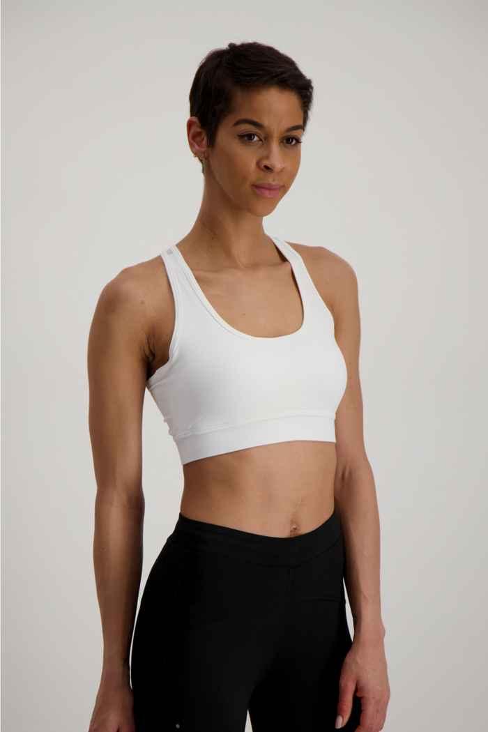 Powerzone Damen Sport-BH Farbe Weiß 1