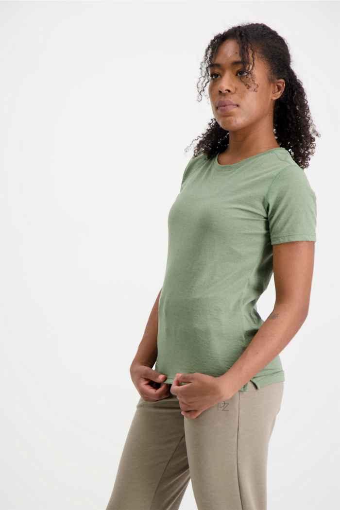 Powerzone Damen T-Shirt Farbe Grün 1