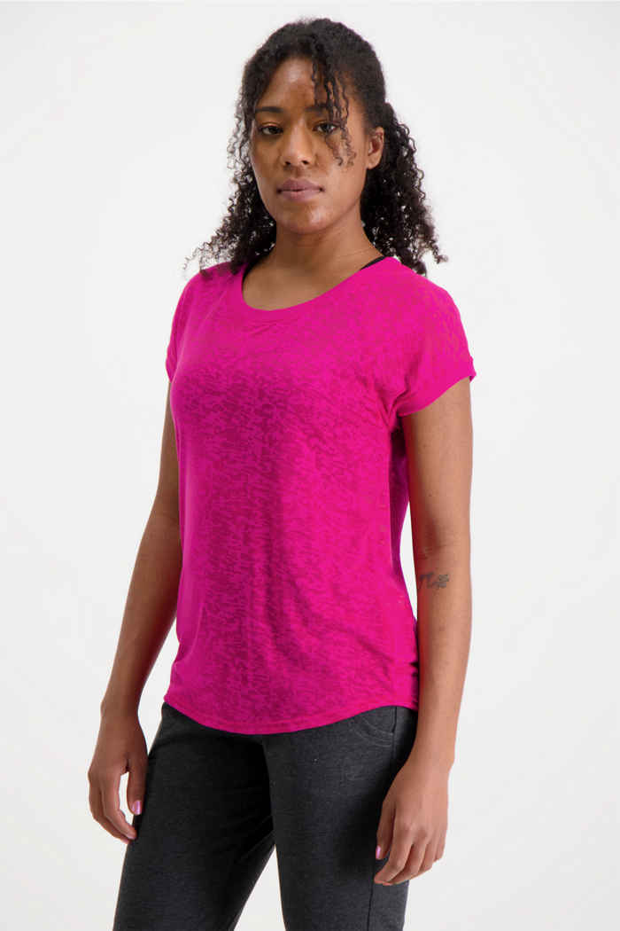 Powerzone Damen T-Shirt Farbe Pink 1