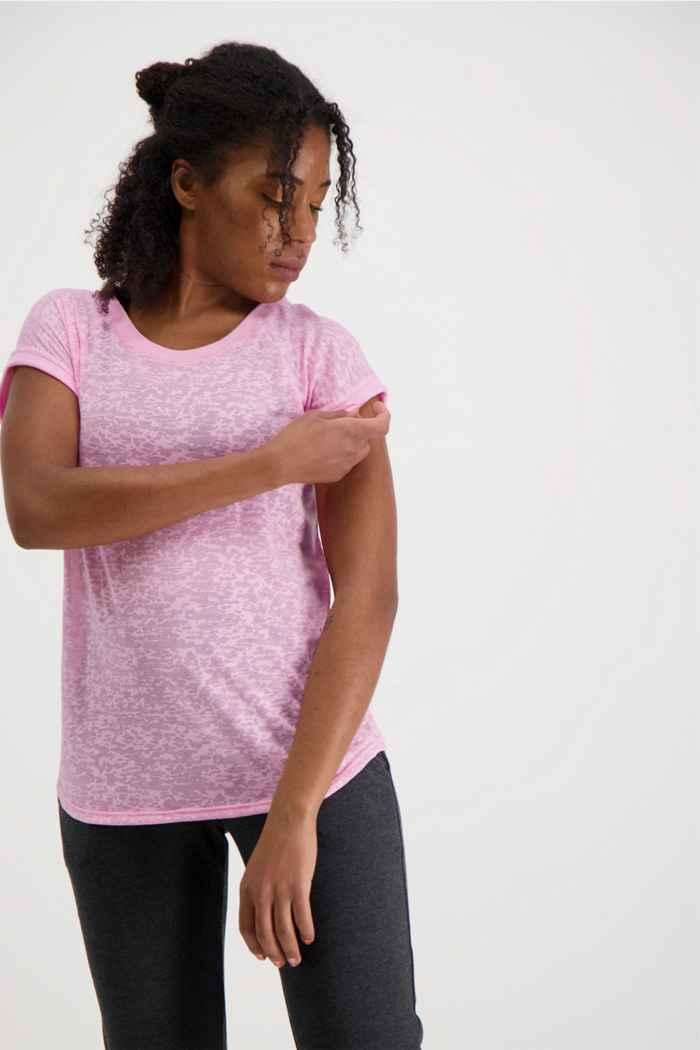 Powerzone Damen T-Shirt Farbe Rosa 1