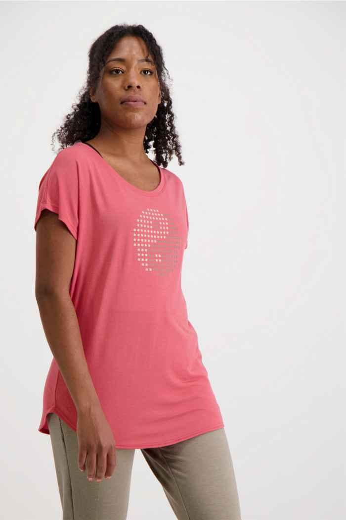 Powerzone Damen T-Shirt Farbe Rost 1