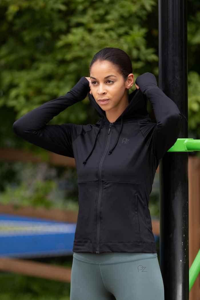 Powerzone Damen Trainingsjacke Farbe Schwarz 1