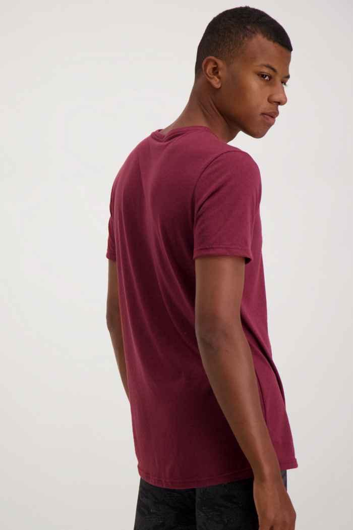 Powerzone Herren T-Shirt Farbe Bordeaux 2