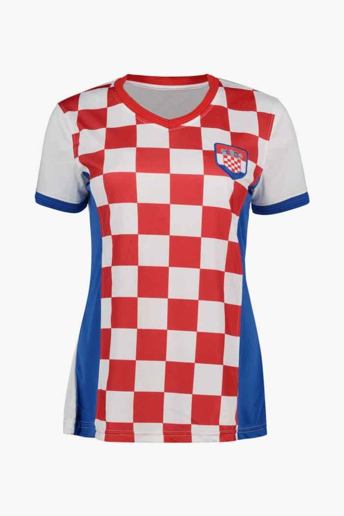 Powerzone Kroatien Fan Damen T-Shirt 1