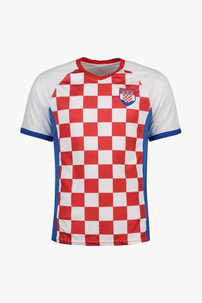 Powerzone Kroatien Fan Herren T-Shirt 1