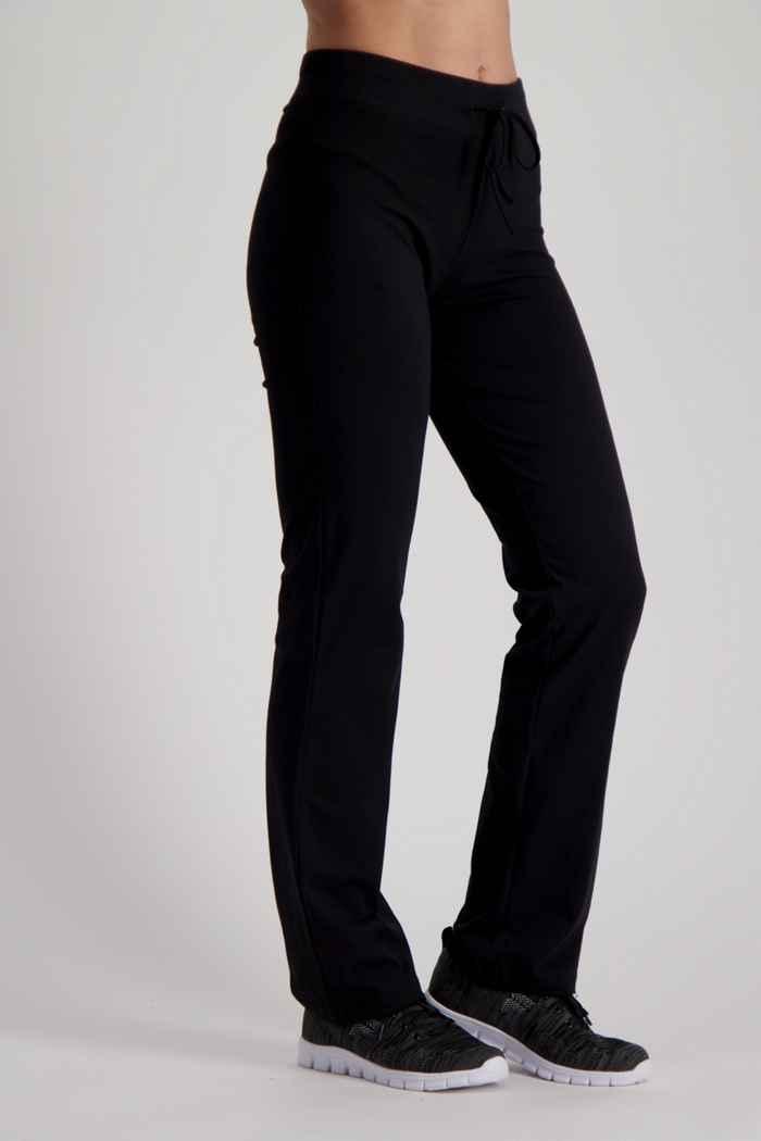 Powerzone Langgrösse Damen Trainerhose Farbe Schwarz 1